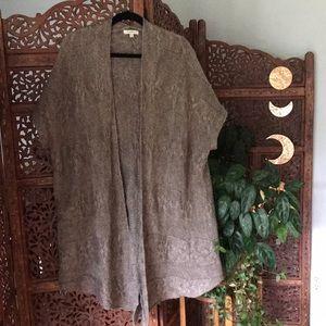 Mystree oversized short sleeved sweater